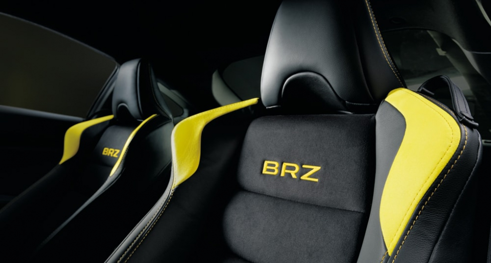 BRZ GT  Yellow Edition インテリア