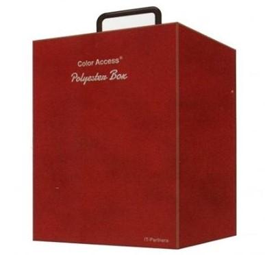 ポリエステル生地による色見本帳 「カラーアクセス・ポリエステルボックス」