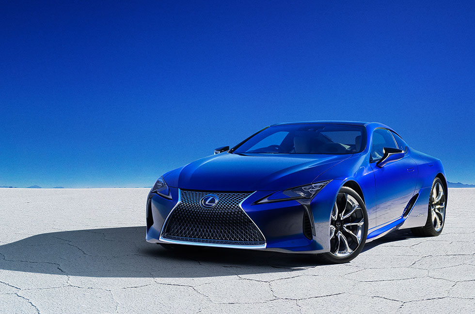 "LEXUS LC500h/LC500 Special Edition ""Structural Blue"""