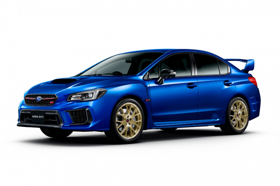 WRX STI EJ20 Final Edition