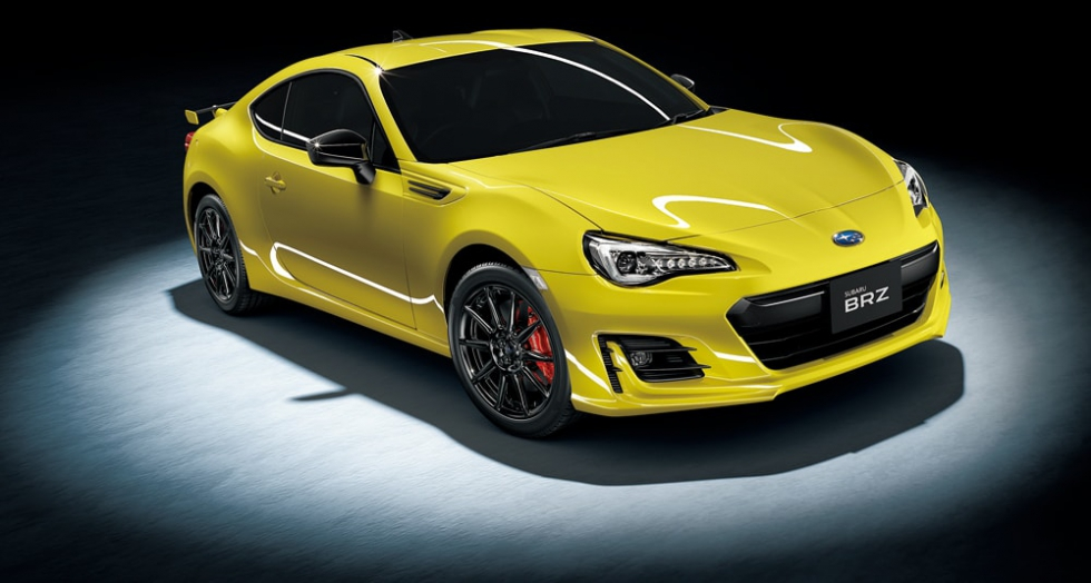 BRZ GT  Yellow Edition エクステリア