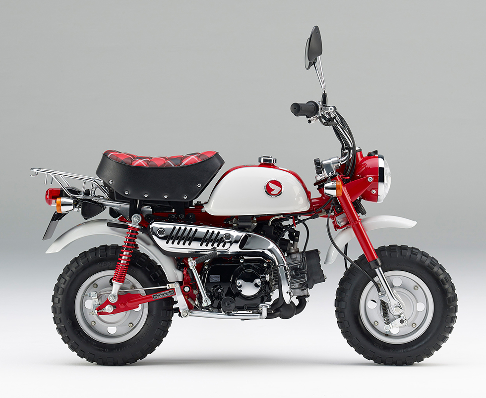 Monkey(Z50) 2トーン(パールサンビームホワイト/マグナレッド)