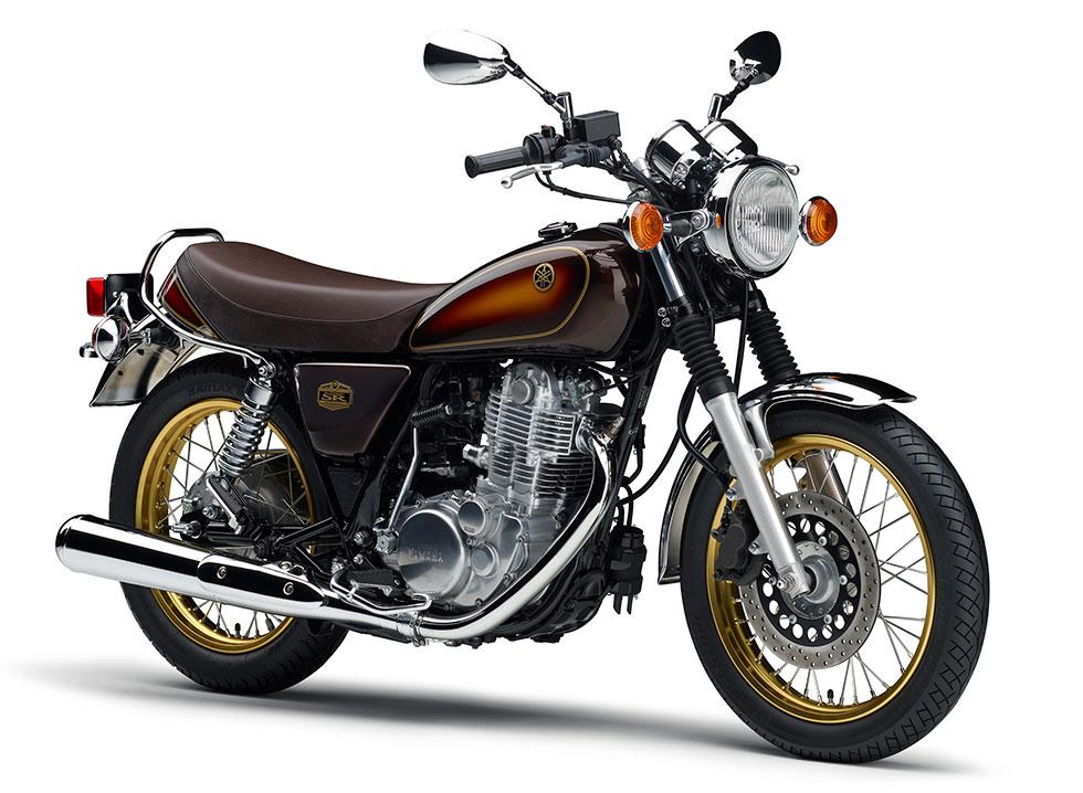 SR 400 40th Anniversary Edition ベリーダークオレンジメタリック 1